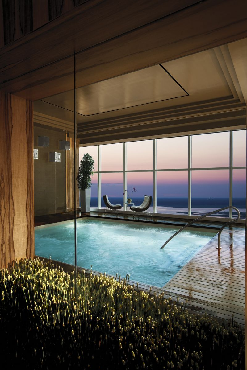 Immersion Spa At The Water Club Would Be Ideal To Take Away Some Of The Stress I Have Caused Thru The Yrs Atlantic City Cool Pools Outdoor Water Features
