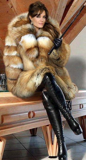 MINK AND SATIN | Fur Fashion | Fur fashion, Fur, Fox fur coat