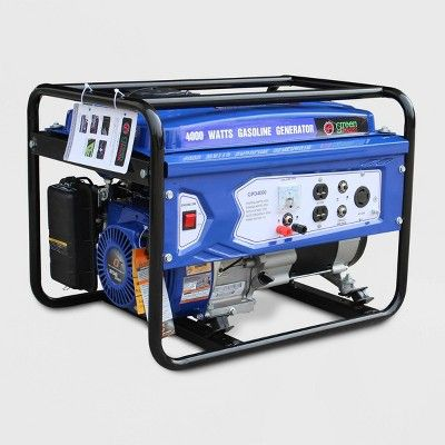 Fine 4000W Generator Blue Green Power In 2019 Products Download Free Architecture Designs Scobabritishbridgeorg