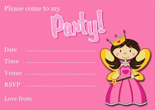 Free Printable Princess Party Invitation Template Princess - free engagement party invites
