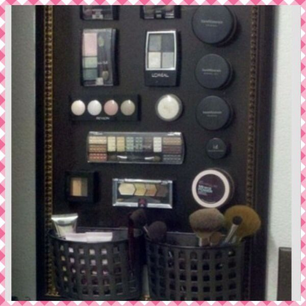 Best Way To Organize Makeup Spray Paint And Magnets