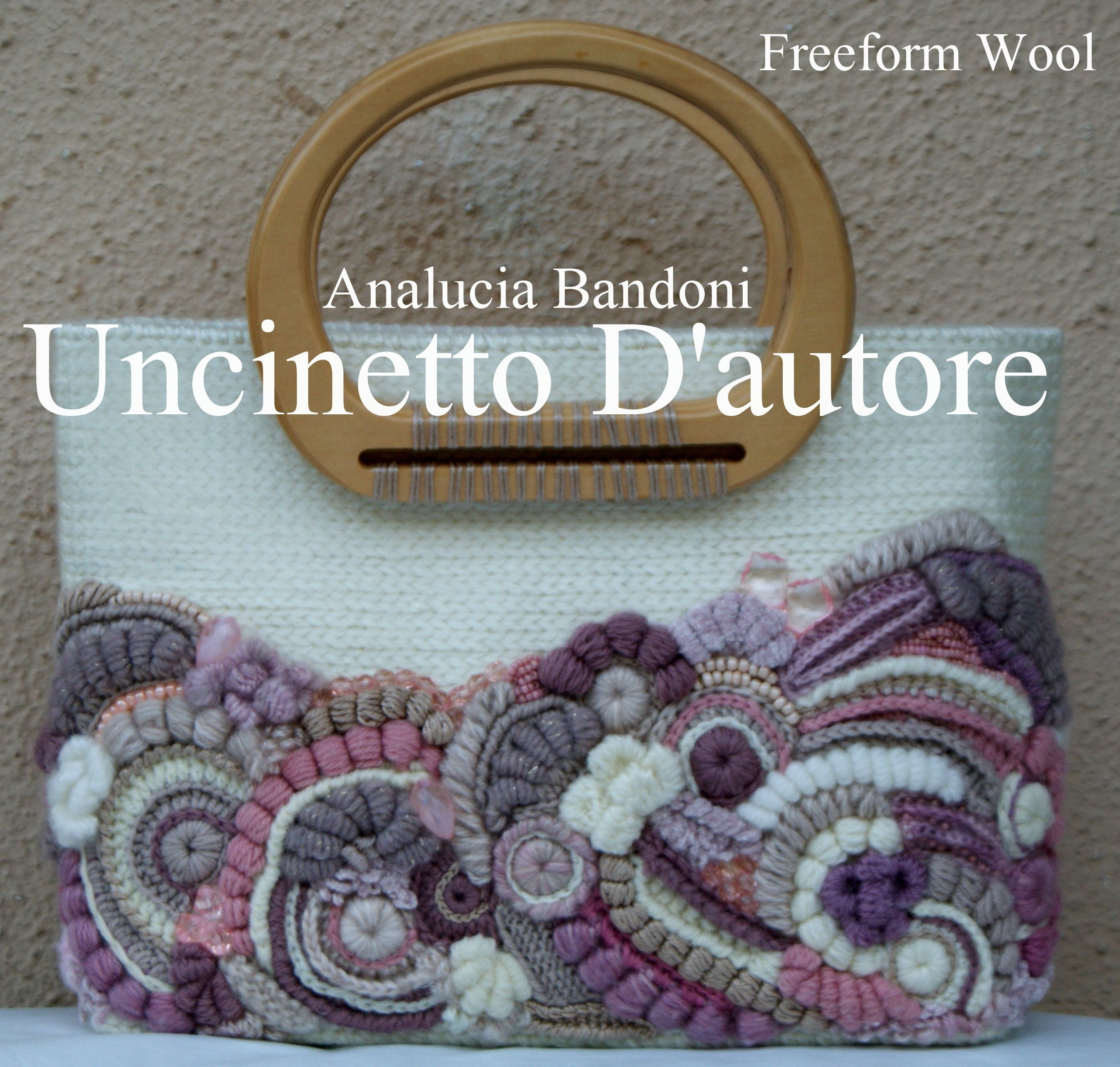 crochet freeform bag borsa uncinetto   Bags   Pinterest   Körbchen