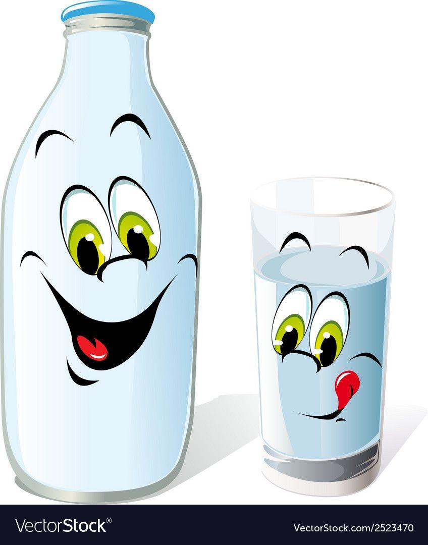 Milk Bottle Vector Image On Boyama Sayfalari Alfabe Oyunlari