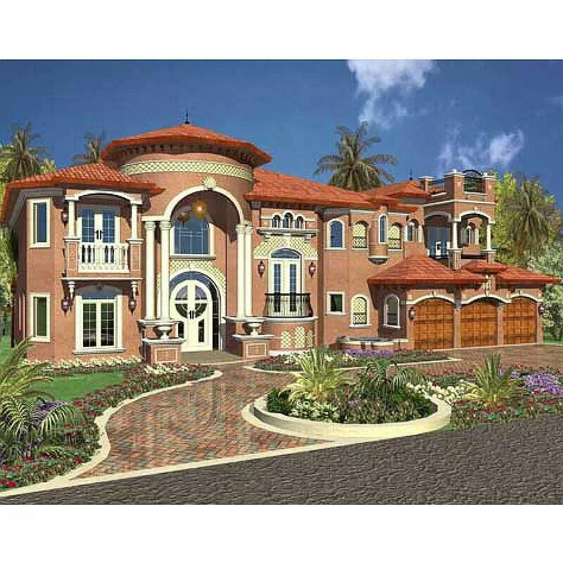 Mediterranean Home: Luxury Mediterranean Style Home Plans