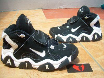 Nike air max barrage 1995 Sneakersbox, Nike air uptempo  Sneakers box, Nike air uptempo