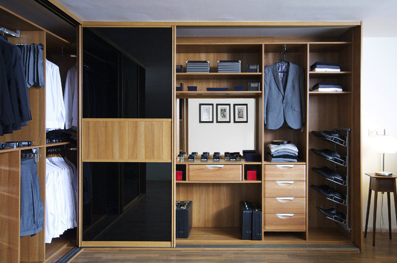 Sliderobes Nicely Organised Wardrobe Home Styles Sliding