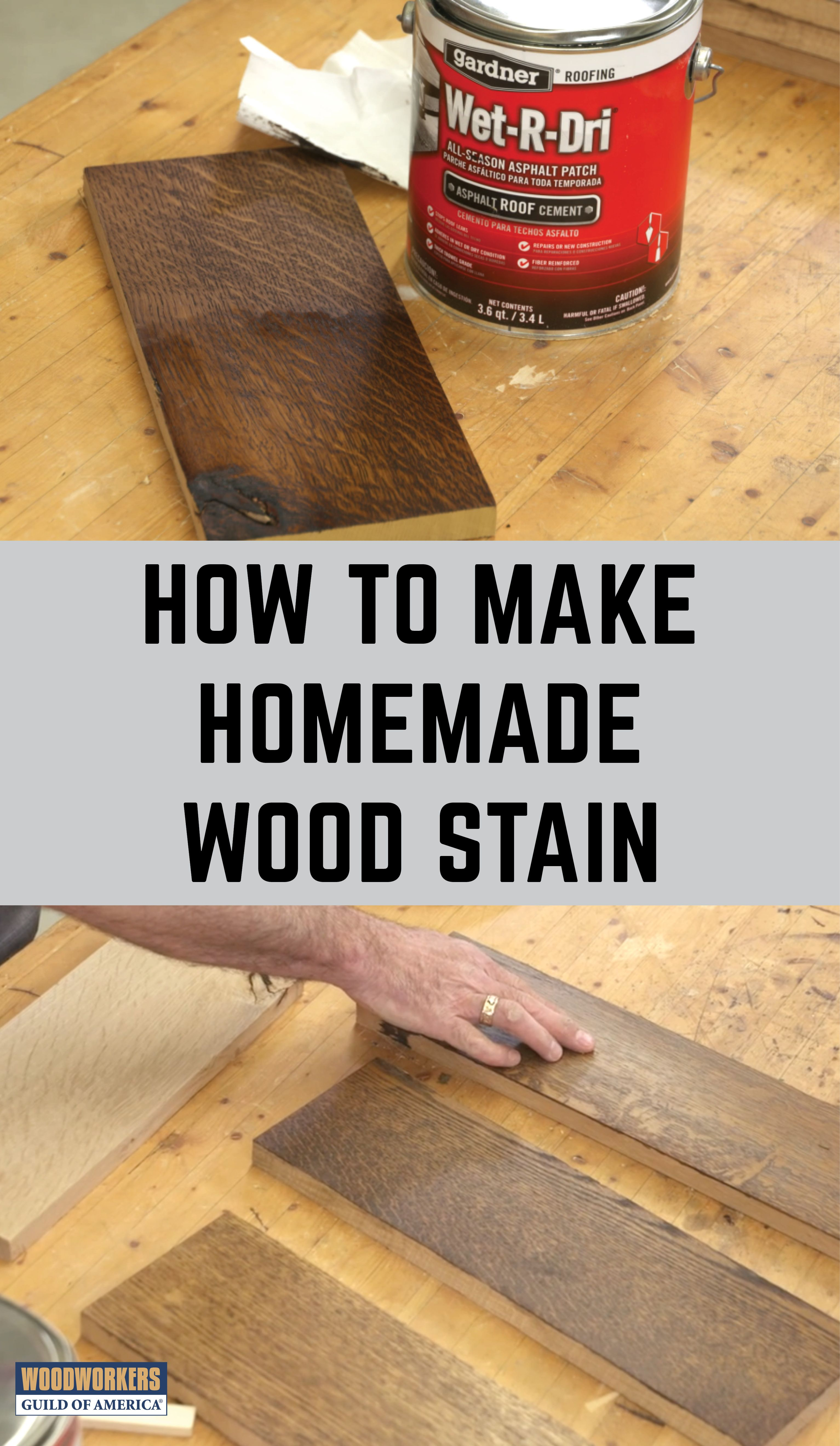 Making Homemade Wood Stain Wood Finishing In 2019