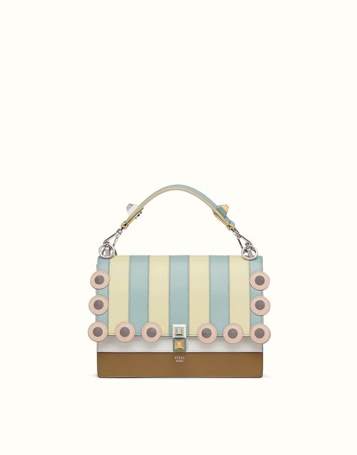KAN I - Multicolored leather bag with studs. Discover the new collections  on Fendi official website. 661276de3b68f