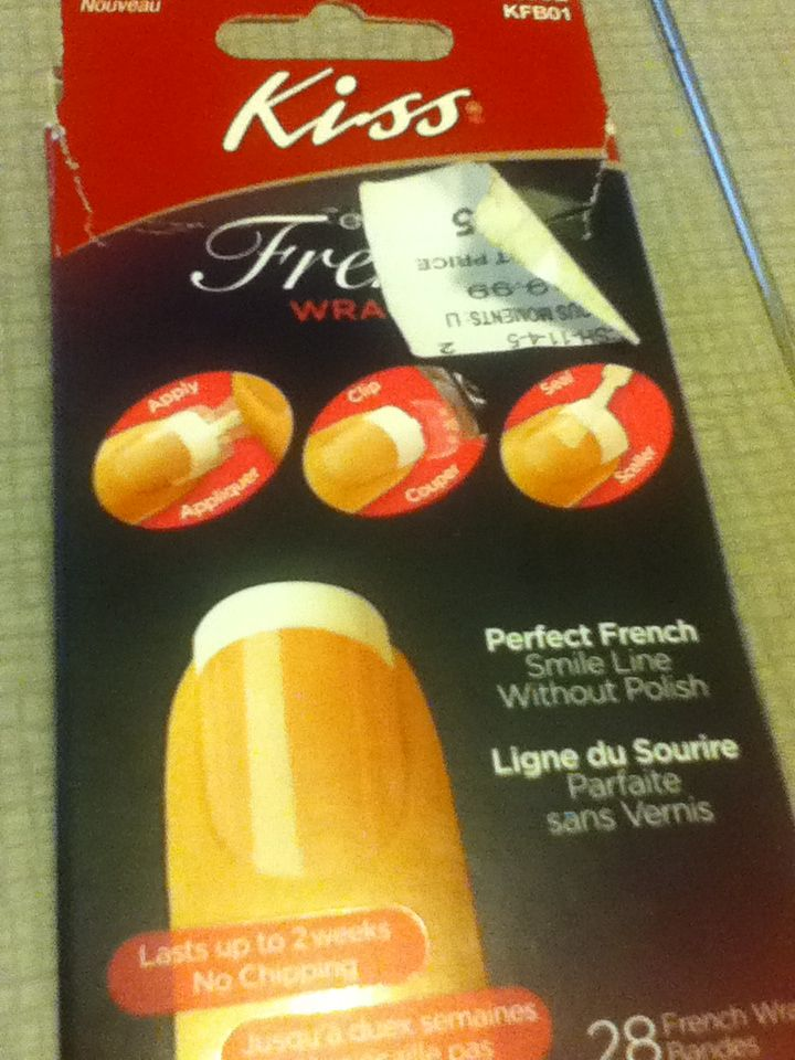 These are the best things ever I can't have fake nails anymore do to my job so my BFF April showed these love them