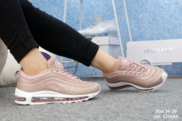 Nike Air Max 97 LX Swarovski Pink Womens shoes WhatsApp 8613328373859 05564761c2