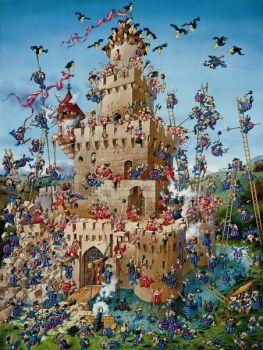 Storming The Castle By Jean Jacques Loup 80 Pieces Avec Images