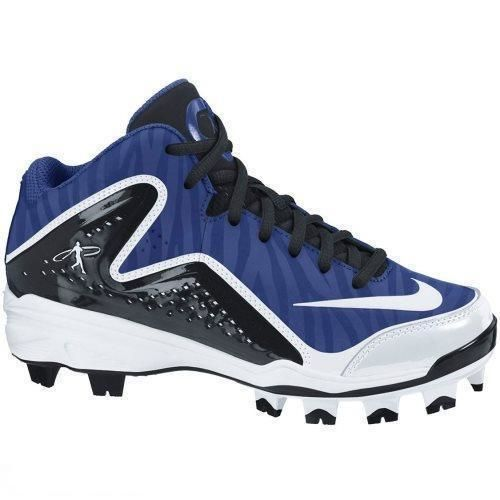 Youth 159061: New Youth Boys 6.5 Nike Swingman Mvp 2 Mid Mcs Molded  Baseball Cleats