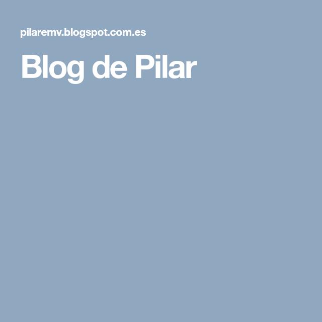 Blog de Pilar