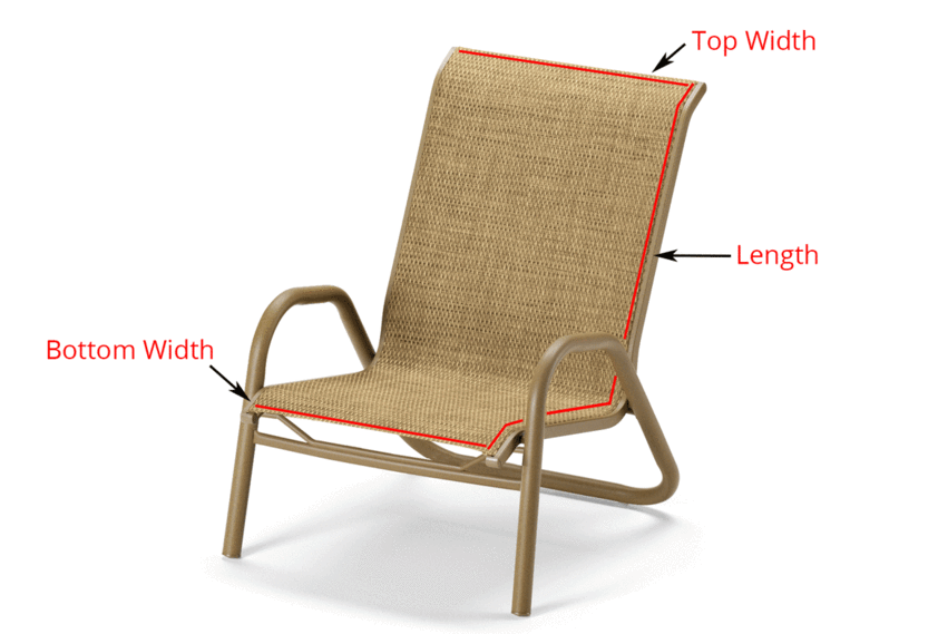 Read This Before You Buy Replacement Slings For Your Patio Furniture Outdoor Chairs Patio Furniture Fabric Diy Patio Furniture