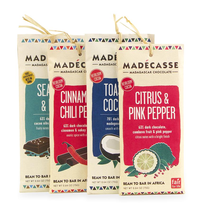 Madécasse Madagascar Chocolates - Gift Baskets Handmade in Africa - Swahili Modern - $7.50