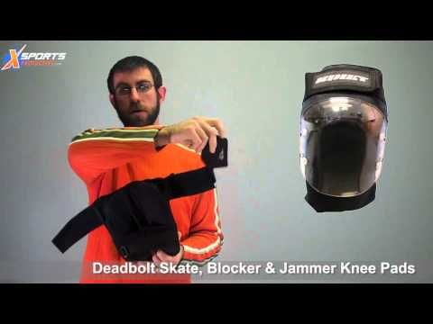 XSports TV: Deadbolt Pads for Skateboarding, Inline Skate and Roller Derby