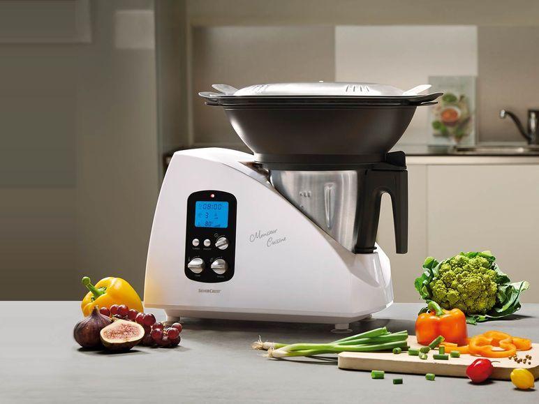 SILVERCREST® Küchenmaschine Monsieur Cuisine SKMH 1100 A1 1 | Lidl ...