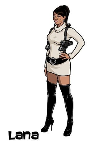 Lana Kane- Archer YUUPPP | Halloween | Sterling archer ...