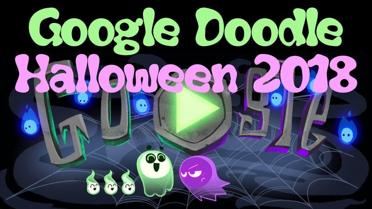 Halloween 2018 (Google Doodle)