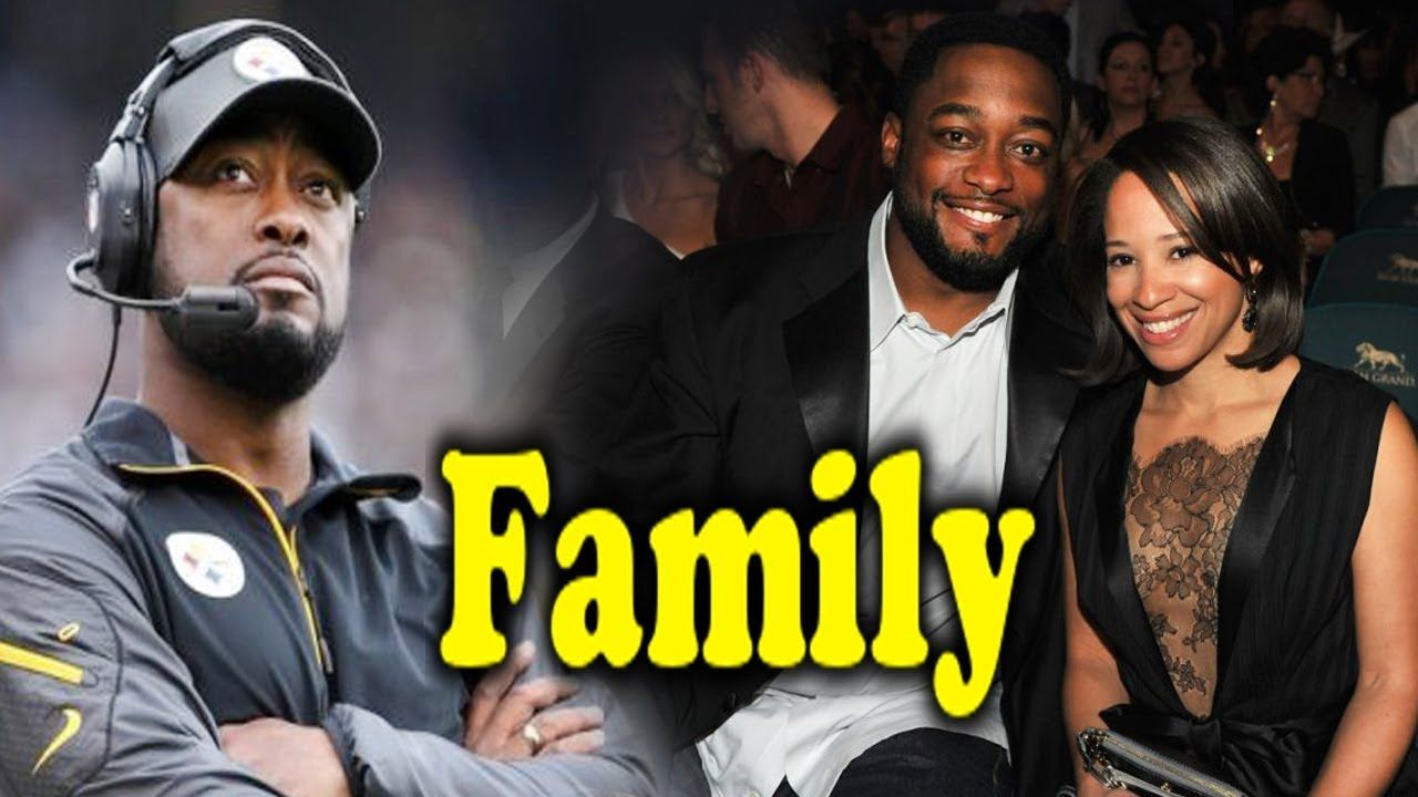 Mike Tomlin Family Photos With Father Mother Brother Children And Wife K Sports Gallery Famous Sports Nfl Championships