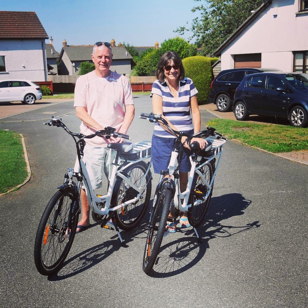 a29b3c993fb ... Electric Bikes. We had a fabulous trip down to Cornwall in the sunshine  to deliver a couple of