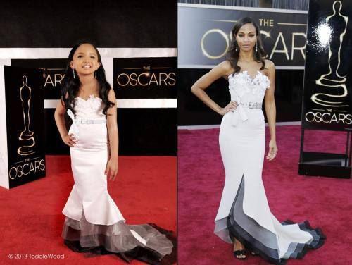 Kids Dress Up Like Oscar Stars Adorable Children Style