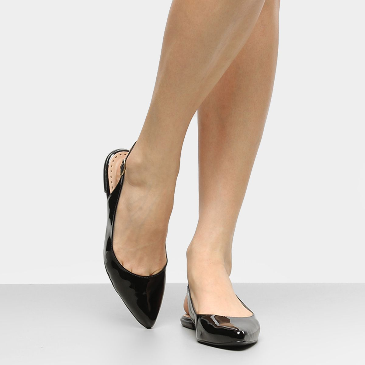 021e90543 Compre Sapatilha Drezzup Chanel Verniz Feminina e muito mais em roupas,  calçados e acessórios na