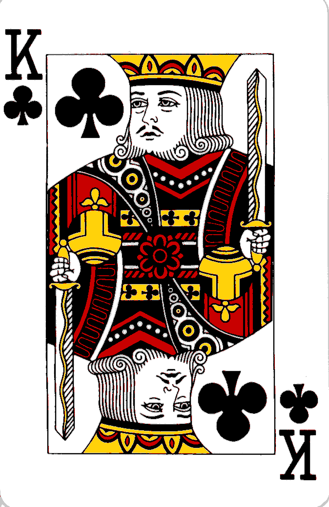Playing cards: King of Hearts – 5 of Diamonds – King of ...