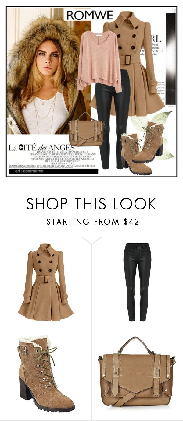 """""""Romwe 8"""" by aida-1999 ❤ liked on Polyvore featuring Topshop, Ivanka Trump, MANGO, women's clothing, women's fashion, women, female, woman, misses and juniors"""