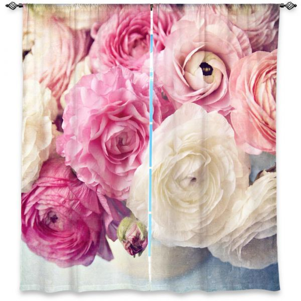 Unique Window Curtains   Sylvia Cook - Shades of Pink