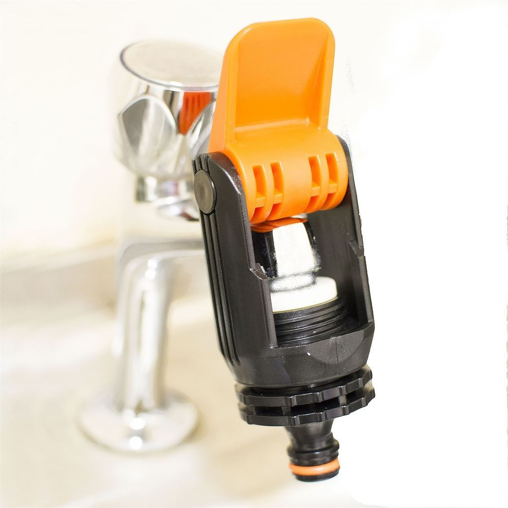 Universal Garden Hose Pipe Connector Mixer Kitchen Bath Tap Faucet Adapter UK