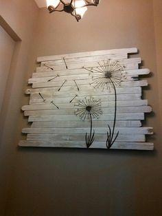 DIY Möbel Aus Europaletten U2013 101 Bastelideen Für Holzpaletten   Holz  Paletten Möbel Selbst Basteln DIY Ideen Wand