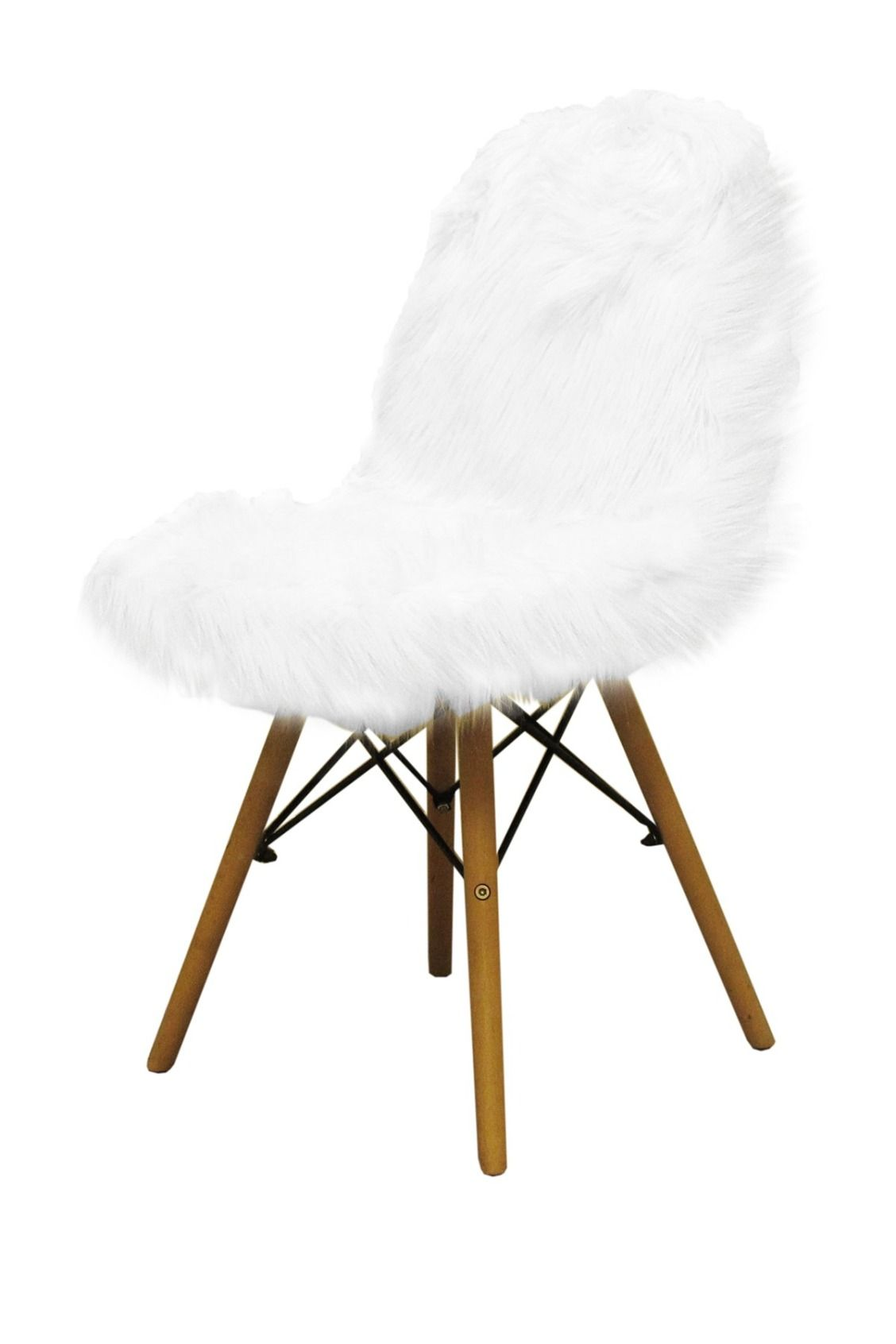 Terrific American Atelier Banks White Faux Fur Chair Bedroom Caraccident5 Cool Chair Designs And Ideas Caraccident5Info