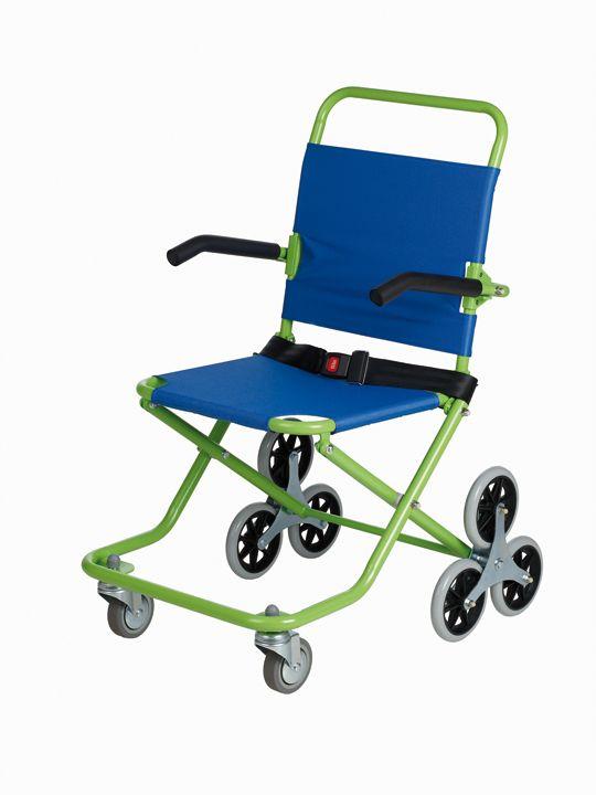 Cadeira de rodas para subir escaleiras d motora apoios for Silla sube escaleras manual