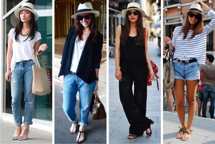 0a14326a36b16 Como usar chapéu Panamá Feminino. O verdadeiro coringa do guarda-roupas!)