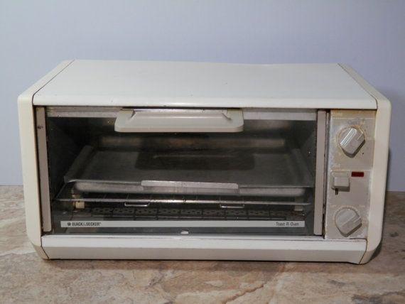 Black Decker Toast R Oven Spacesaver 1990s Bake Toaster By 2lewa Retro Kitchen Decor Vintage Toaster Black Decker