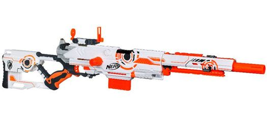 Shop & compare prices : NERF N-STRIKE Whiteout Series Longstrike Blaster by  Nerf UPC: The Longstrike is the longest NERF blaster yet!