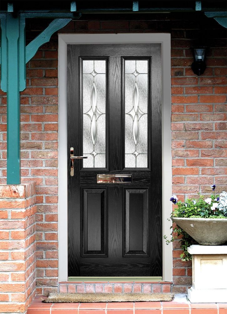 single front doors black - Google Search | Curb Appeal | Pinterest ...