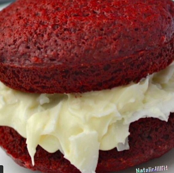 RED VELVET COOKIE PIES it doesn't get any better than this!!! And yes, they are gluten free.