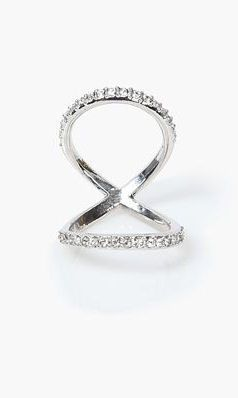 Infinity Ring in Silver <3
