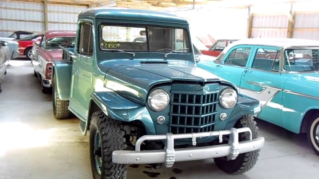 1951 Jeep Willys Pick-up Four Wheel Drive - vintage 4x4   Mobile ...