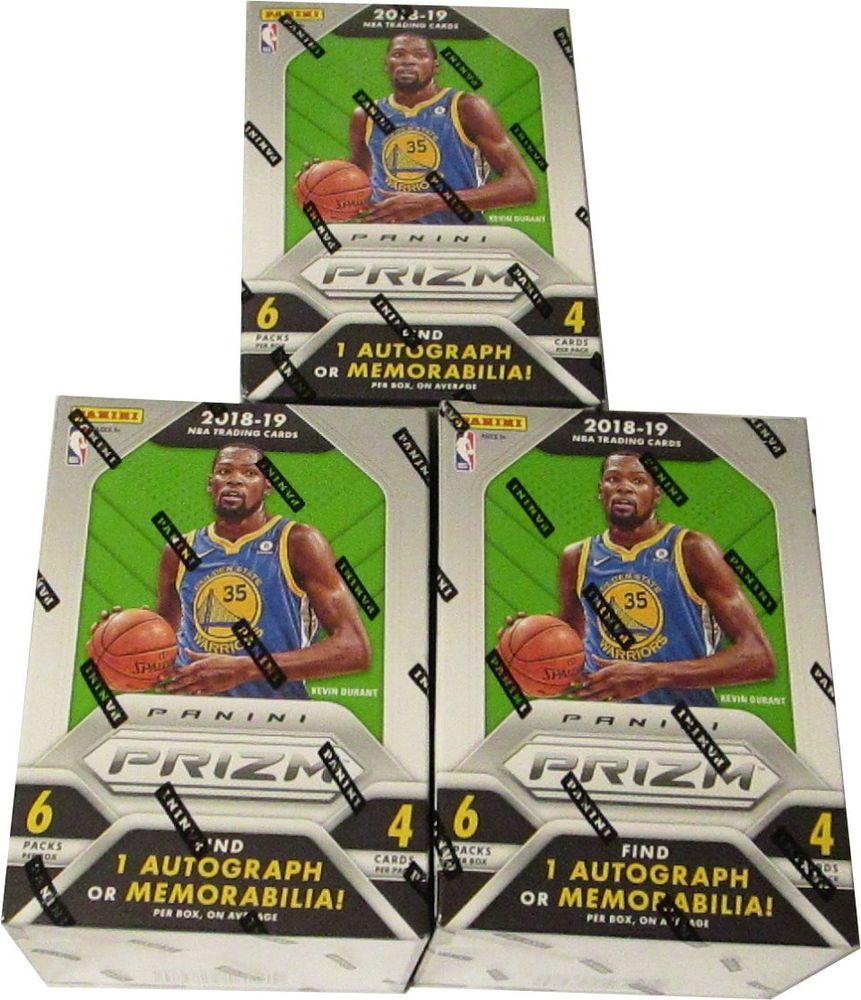 PANINI PRIZM basket NBA Blaster Box 2018//19 1 Voiture or Memorabilia