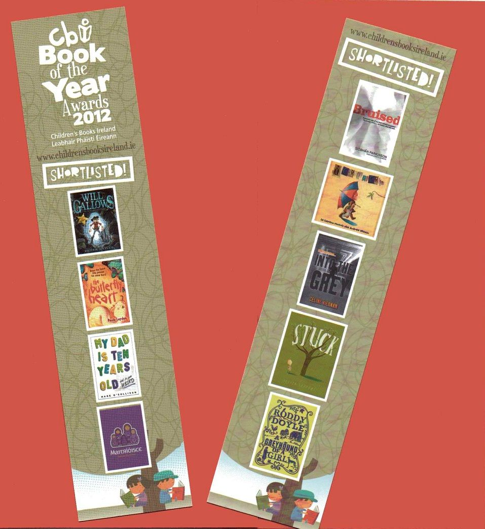 CBI book award shortlist bookmark (With images) Book