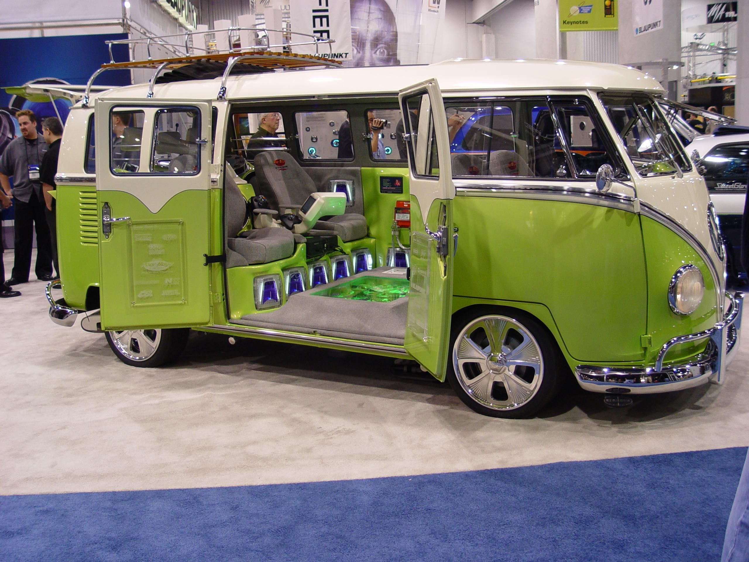 Images for vw bus custom camper interior