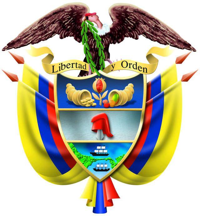 Escudo De Colombia Escudo Nacional Del Colombia Simbolos Patrios De Colombia Cultura De Colombia Bandera De Colombia