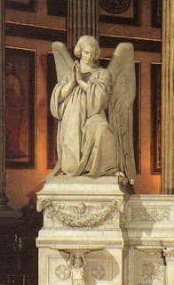 la Madeleine Church, Angeli-parigi