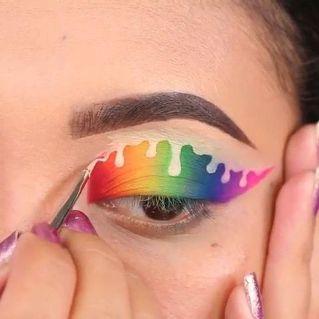 46 Amazing Magical Eye Makeup Ideas for Pretty Women - Artbrid -