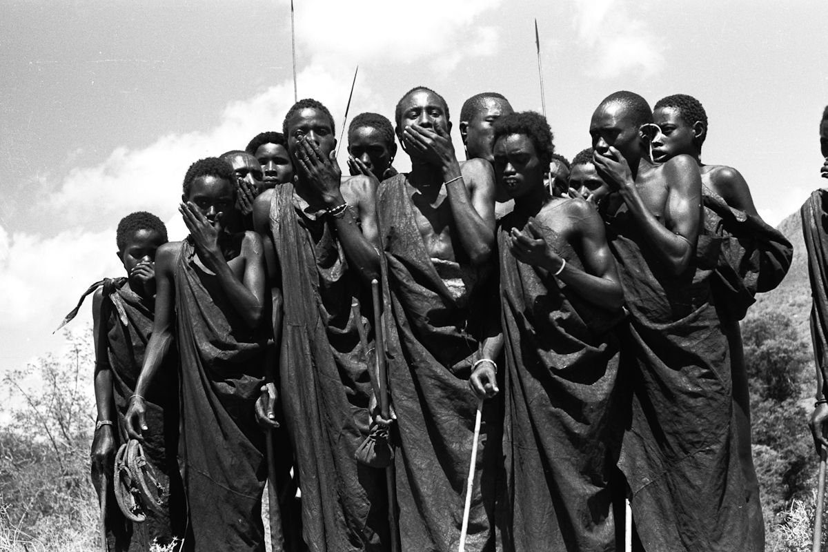 Wilfred Patrick Thesiger Date of Photo: 1961 Continent: Africa Geographical  Area: East Africa Country: Kenya Region/Place: Mathews Mountain Range  Cultural ...
