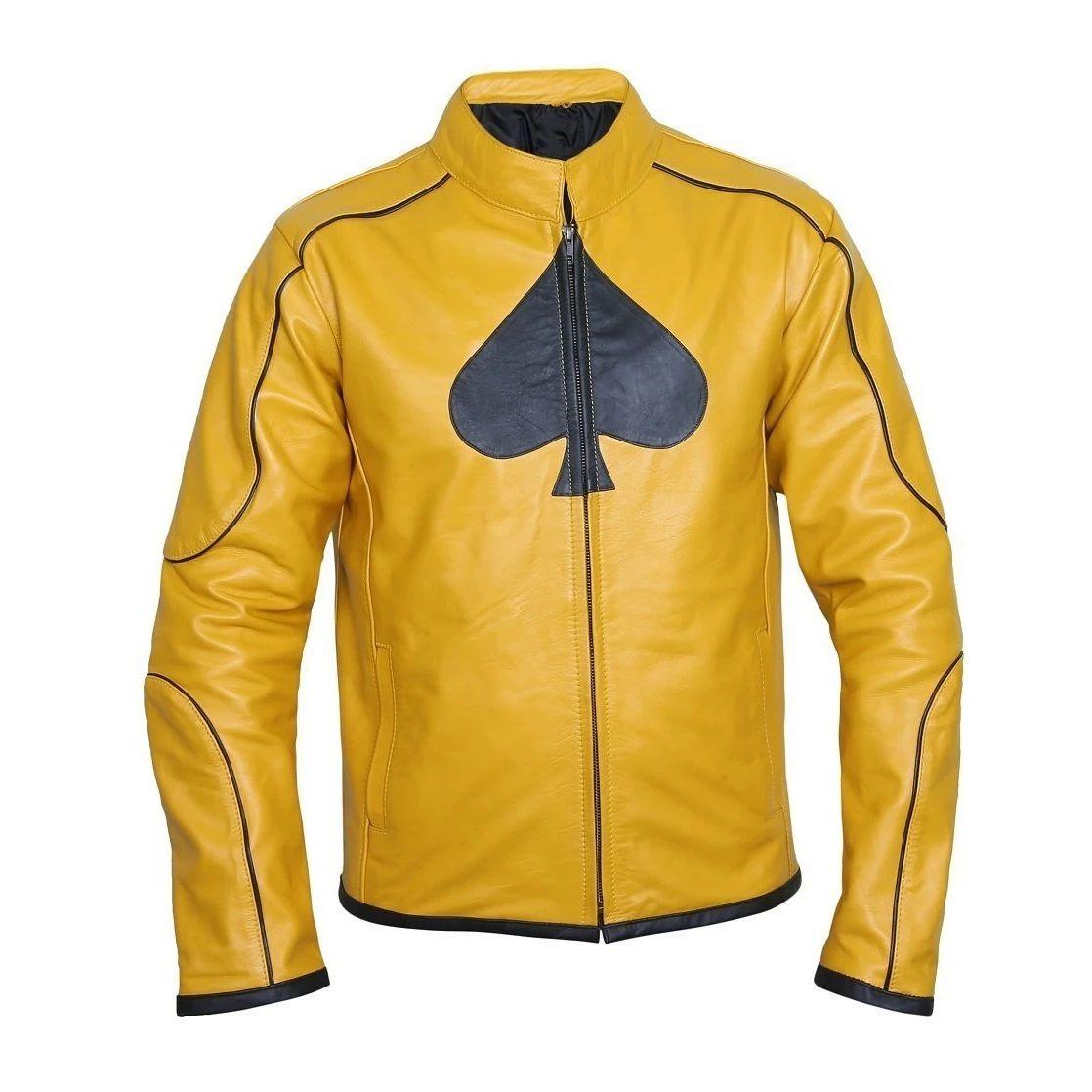 Classy Dijon Mustard Yellow Leather Jacket Best Leather Jackets Casual Leather Jacket Coloured Leather Jacket [ 1118 x 1118 Pixel ]
