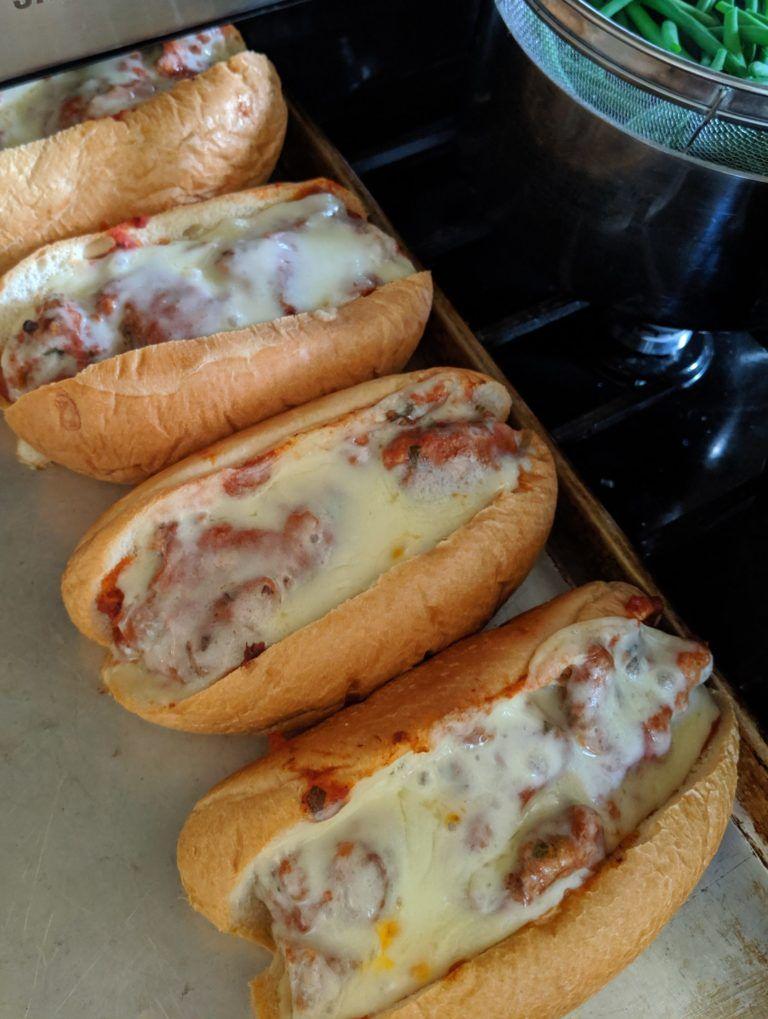 Best Ever Meatball Subs - Sungrown Kitchen